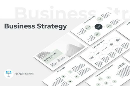 Business Models: Business Strategy Keynote Template #04526