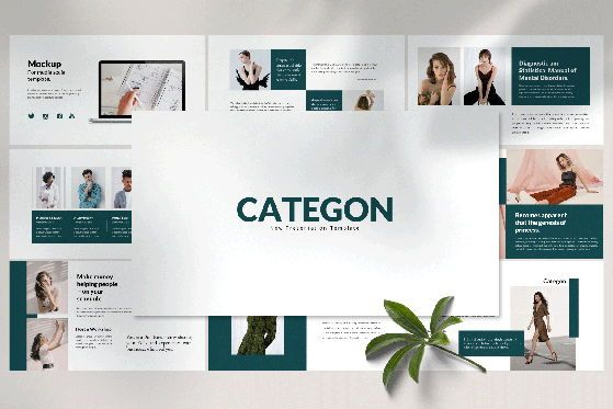 Presentation Templates: Categon - PowerPoint Template #04529