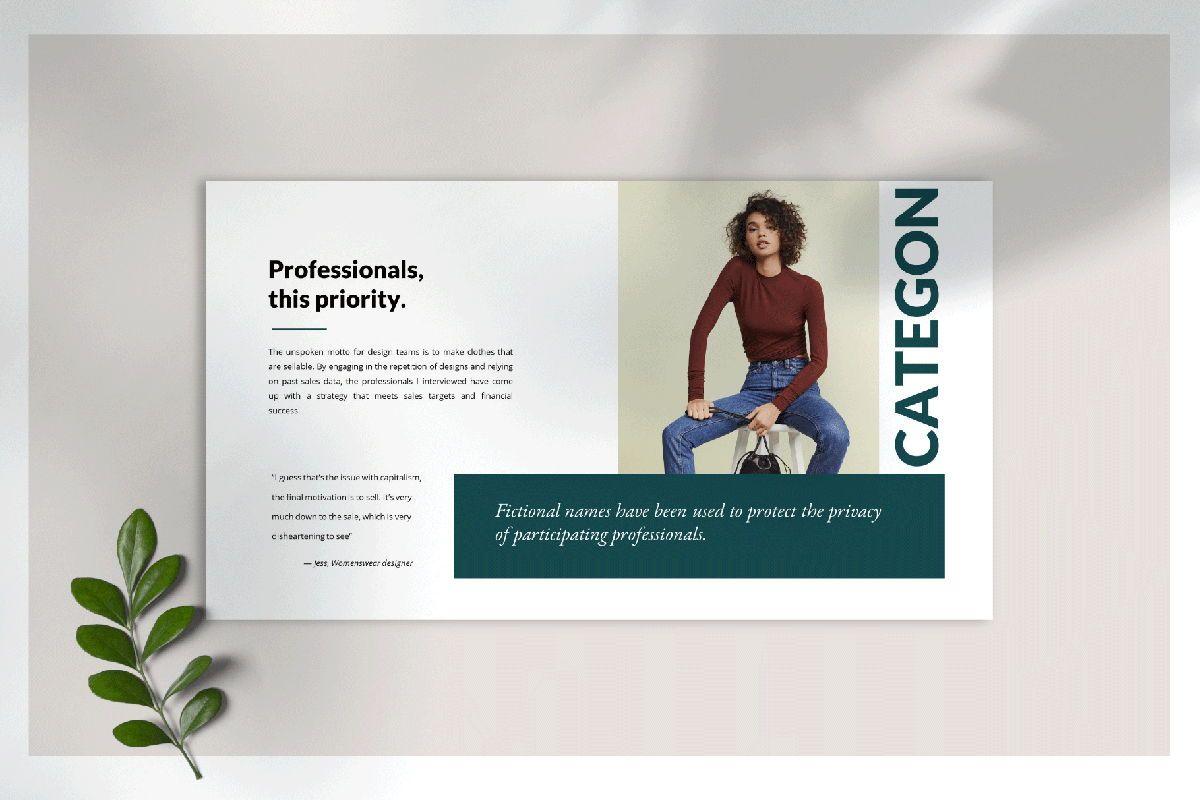 Categon - Google Slides, Slide 3, 04530, Presentation Templates — PoweredTemplate.com