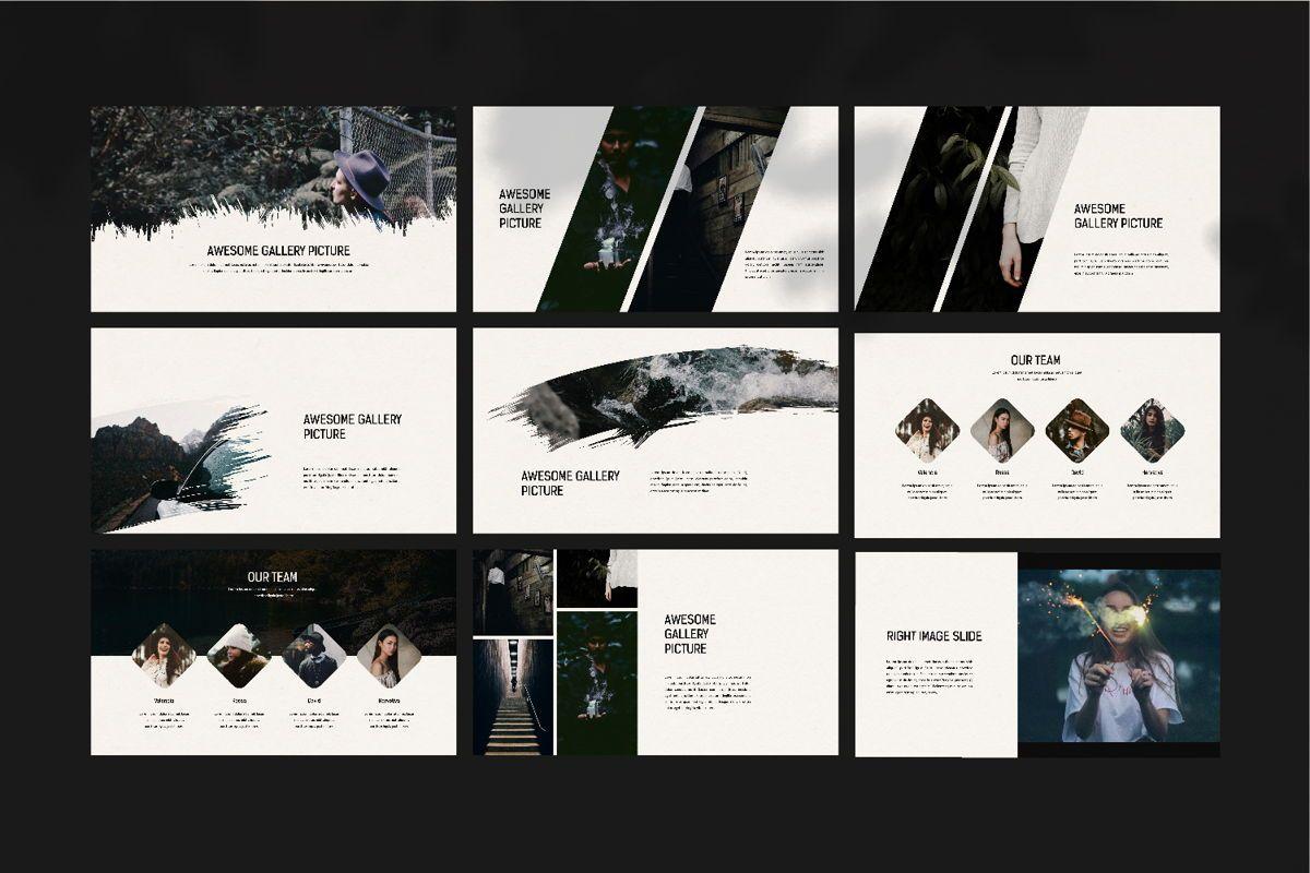 Darkness - Google Slides, Slide 10, 04531, Presentation Templates — PoweredTemplate.com