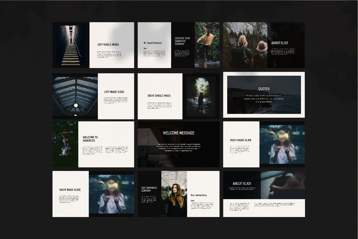 Darkness - Google Slides, Slide 11, 04531, Presentation Templates — PoweredTemplate.com
