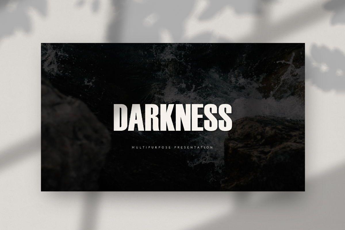Darkness - Google Slides, Slide 2, 04531, Presentation Templates — PoweredTemplate.com
