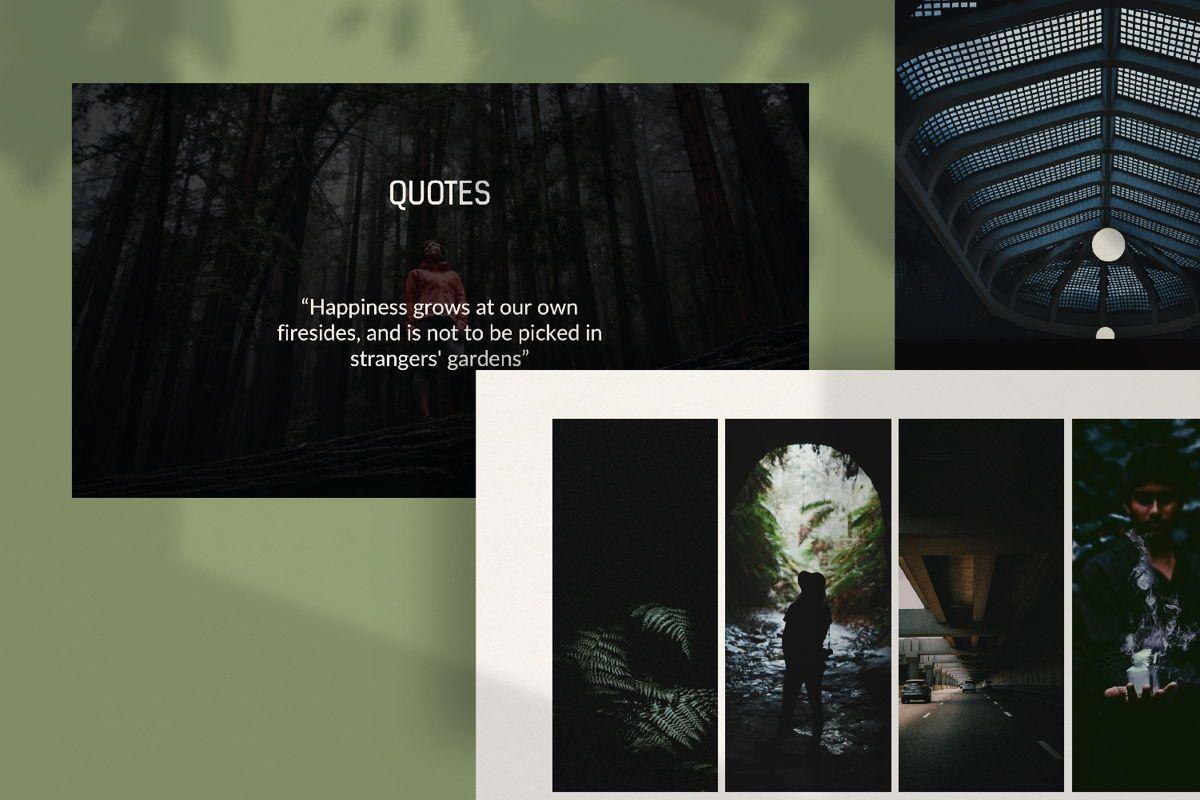 Darkness - Google Slides, Slide 3, 04531, Presentation Templates — PoweredTemplate.com