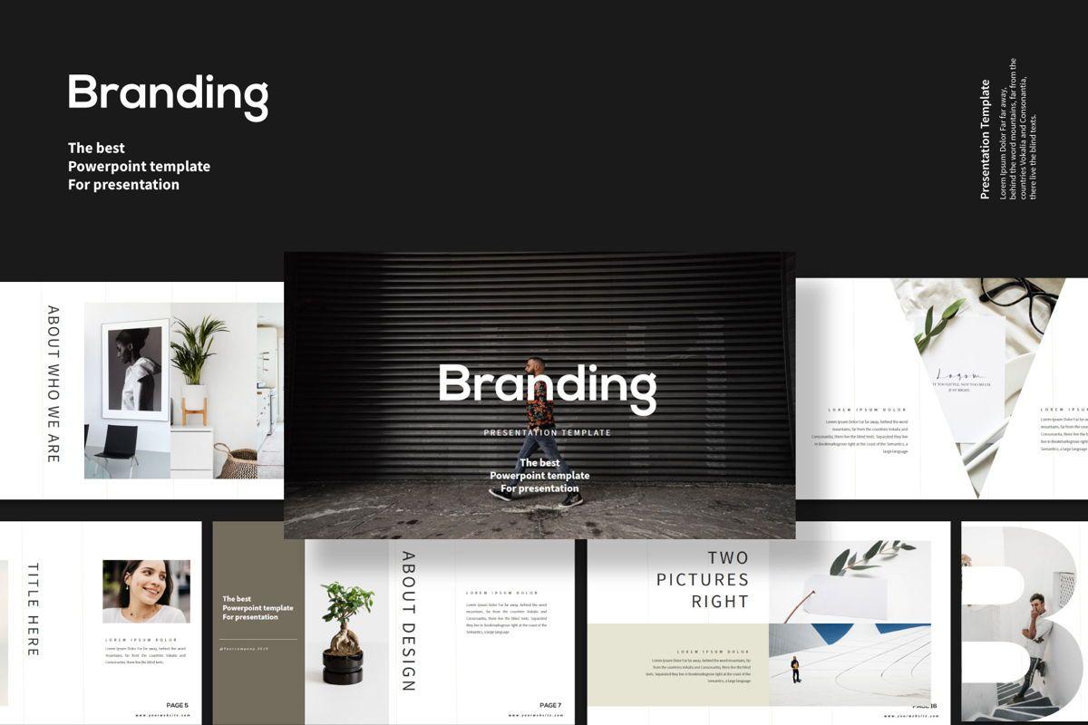 Branding - PowerPoint Template, 04532, Presentation Templates — PoweredTemplate.com