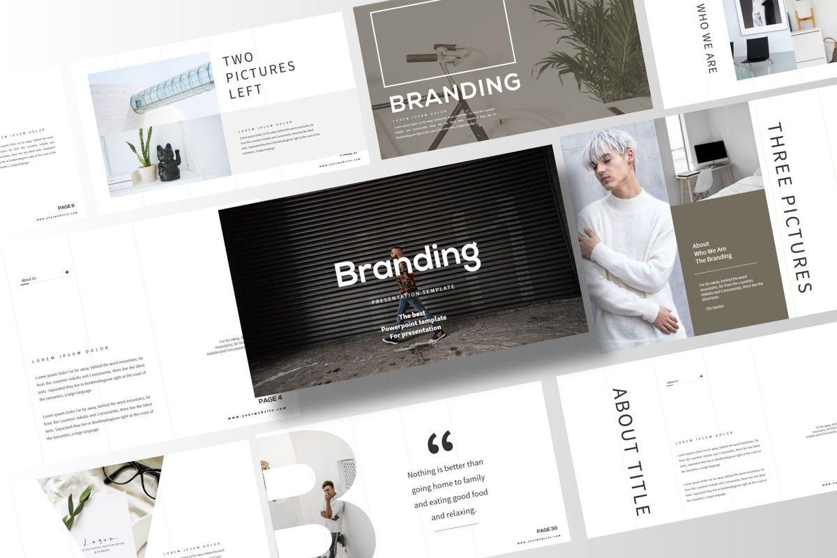 Branding - PowerPoint Template, Slide 2, 04532, Presentation Templates — PoweredTemplate.com