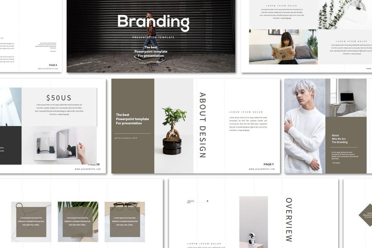 Branding - PowerPoint Template, Slide 3, 04532, Presentation Templates — PoweredTemplate.com