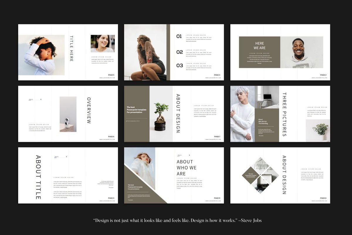 Branding - PowerPoint Template, Slide 5, 04532, Presentation Templates — PoweredTemplate.com