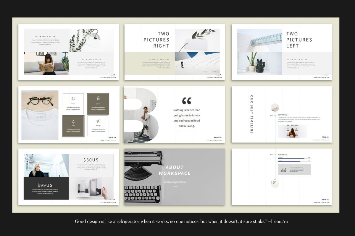 Branding - PowerPoint Template, Slide 6, 04532, Presentation Templates — PoweredTemplate.com