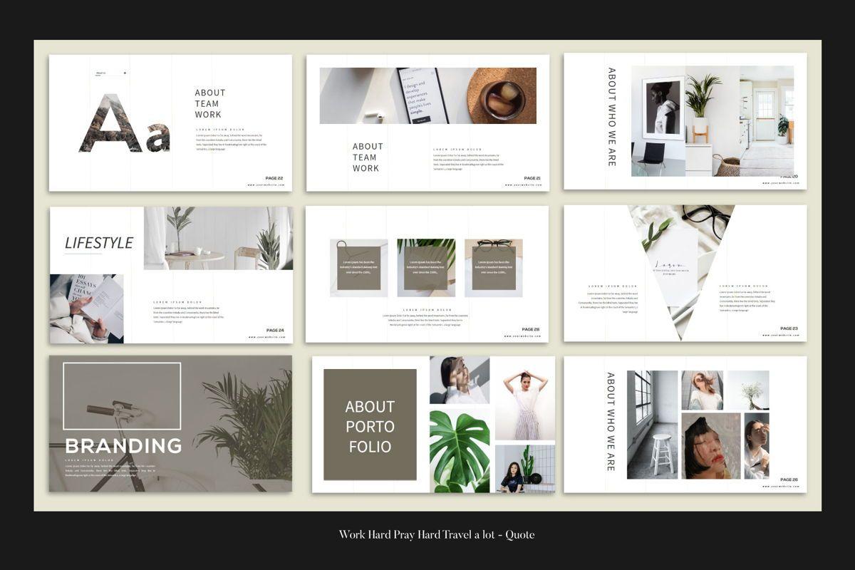 Branding - PowerPoint Template, Slide 7, 04532, Presentation Templates — PoweredTemplate.com