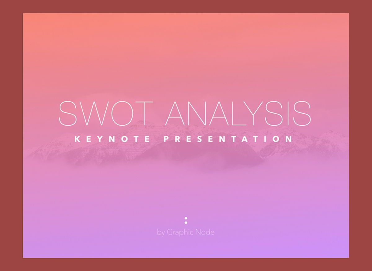 Be Trendy Keynote Presentation Template, 04534, Presentation Templates — PoweredTemplate.com