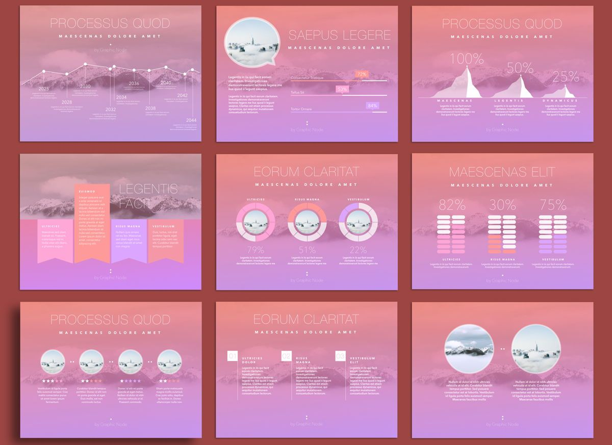 Be Trendy Keynote Presentation Template, Folie 3, 04534, Präsentationsvorlagen — PoweredTemplate.com