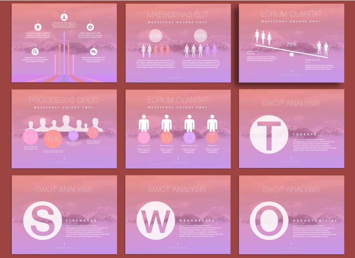 Be Trendy Keynote Presentation Template, Slide 4, 04534, Presentation Templates — PoweredTemplate.com