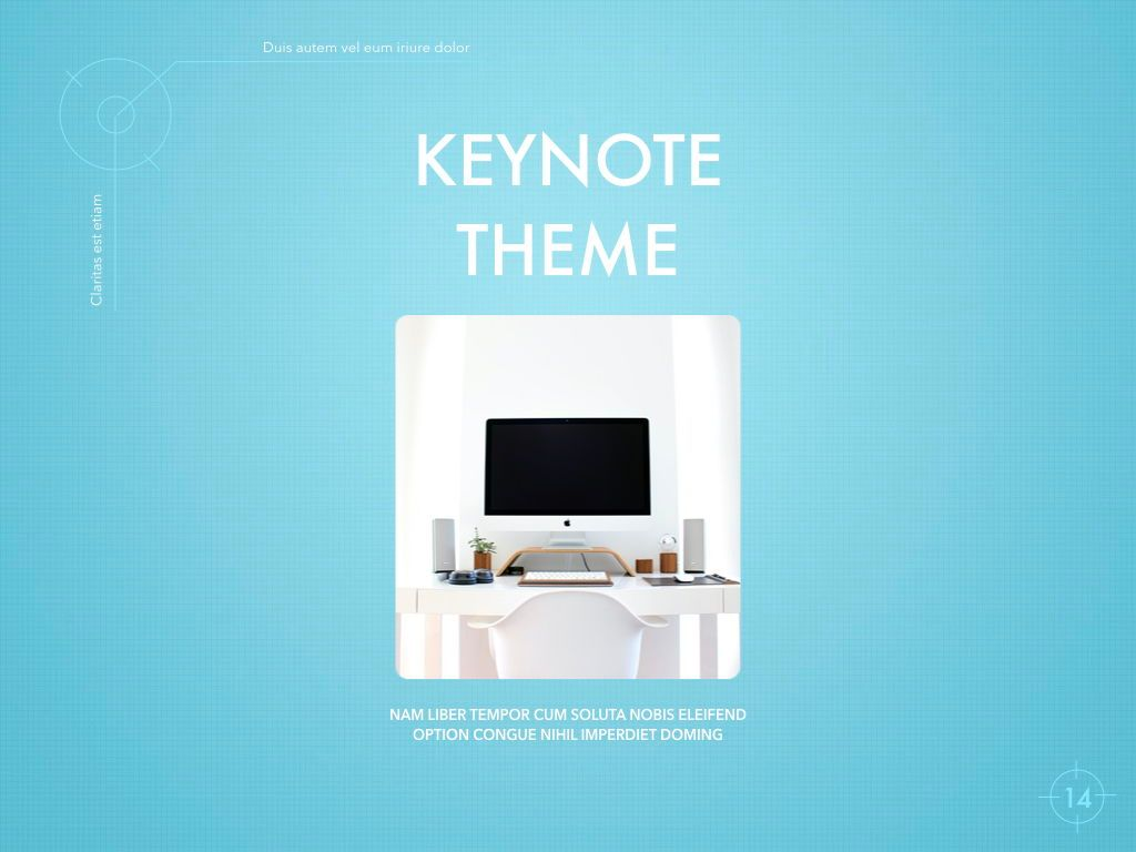 Blue Chip Keynote Presentation Template, Slide 11, 04536, Presentation Templates — PoweredTemplate.com