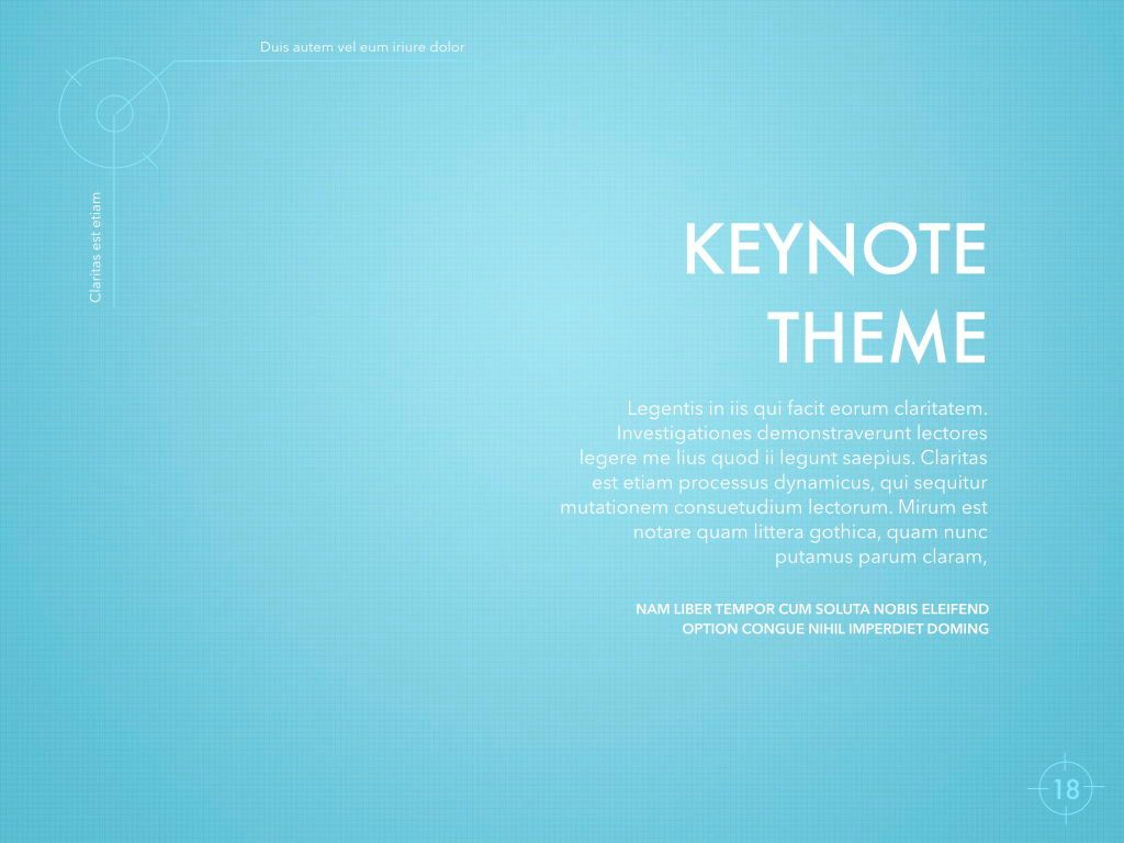 Blue Chip Keynote Presentation Template, Slide 15, 04536, Presentation Templates — PoweredTemplate.com