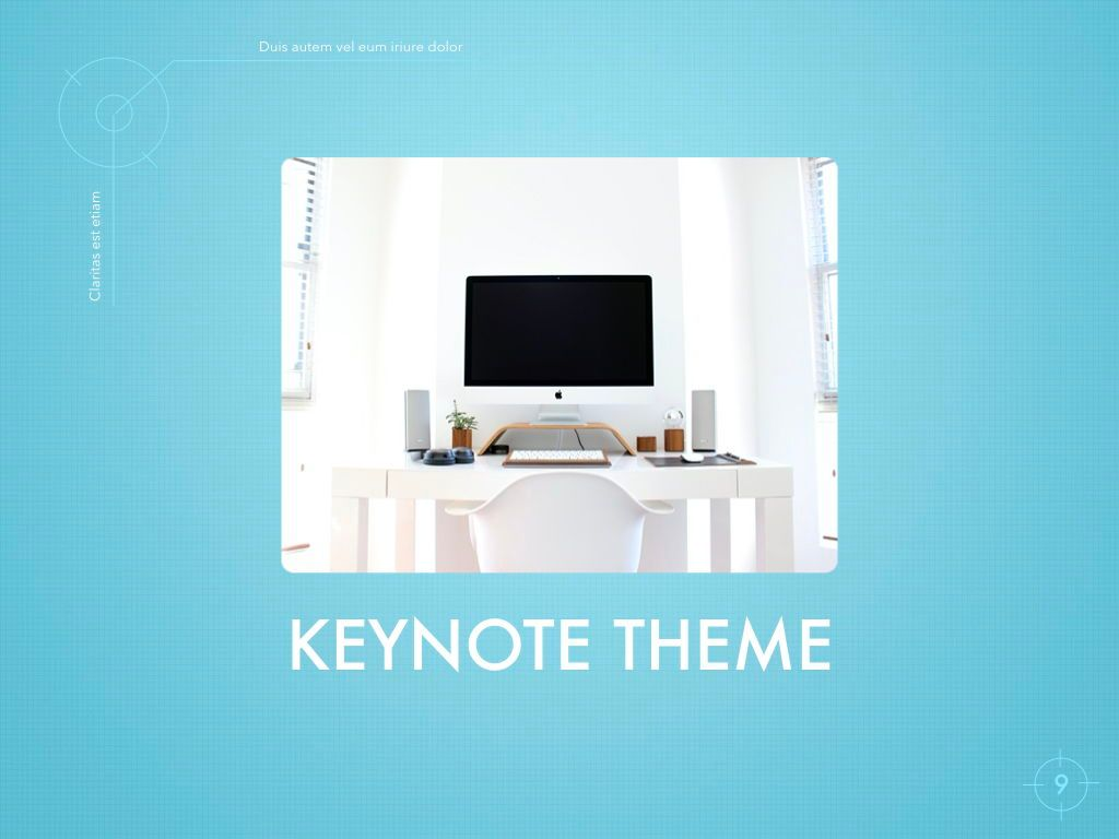 Blue Chip Keynote Presentation Template, Slide 6, 04536, Presentation Templates — PoweredTemplate.com