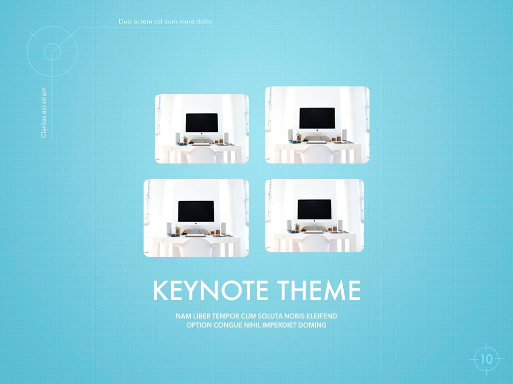 Blue Chip Keynote Presentation Template, Slide 7, 04536, Presentation Templates — PoweredTemplate.com