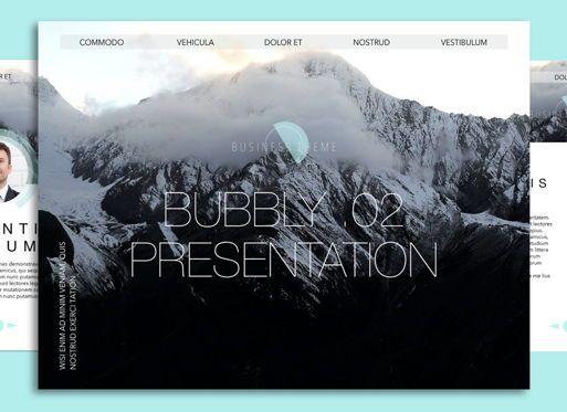 Presentation Templates: Bubbly 02 Keynote Presentation Template #04540