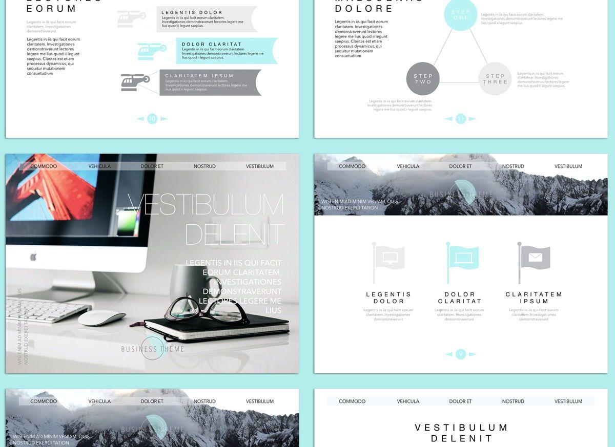 Bubbly 02 Keynote Presentation Template, Slide 2, 04540, Presentation Templates — PoweredTemplate.com
