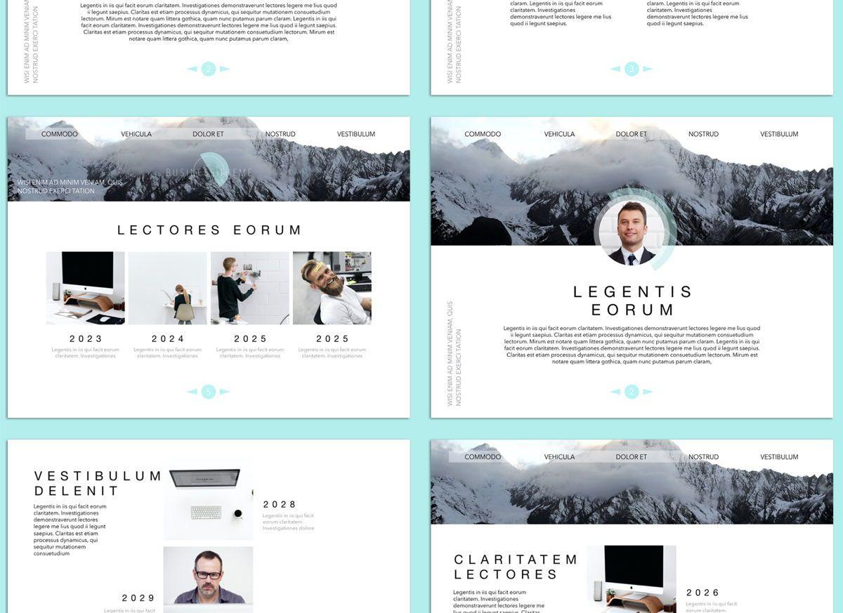 Bubbly 02 Keynote Presentation Template, Slide 3, 04540, Presentation Templates — PoweredTemplate.com