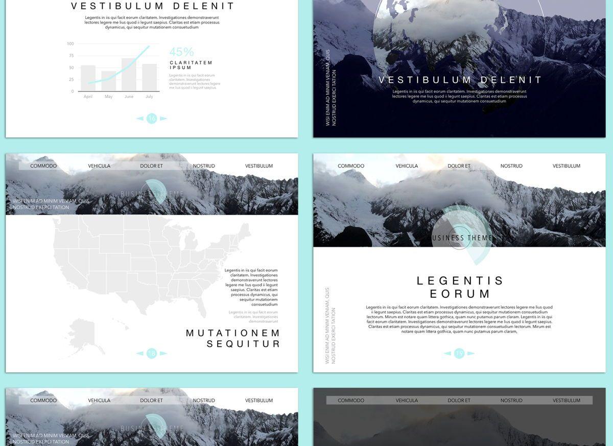 Bubbly 02 Keynote Presentation Template, Slide 4, 04540, Presentation Templates — PoweredTemplate.com