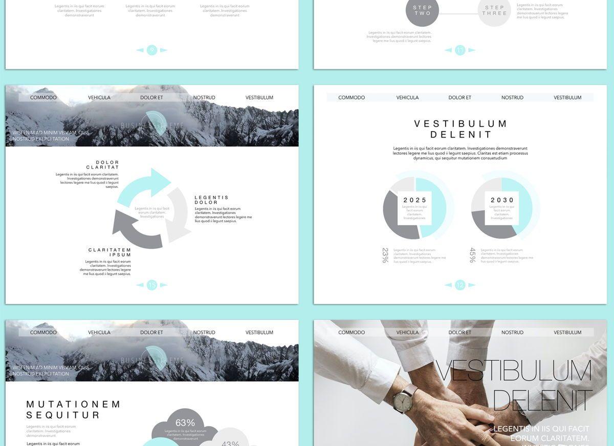 Bubbly 02 Keynote Presentation Template, Slide 5, 04540, Presentation Templates — PoweredTemplate.com