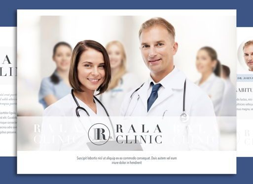 Presentation Templates: Clinical Keynote Presentation Template #04541