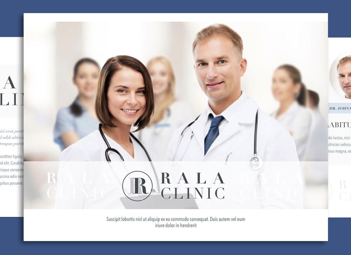 Clinical Keynote Presentation Template, 04541, Presentation Templates — PoweredTemplate.com