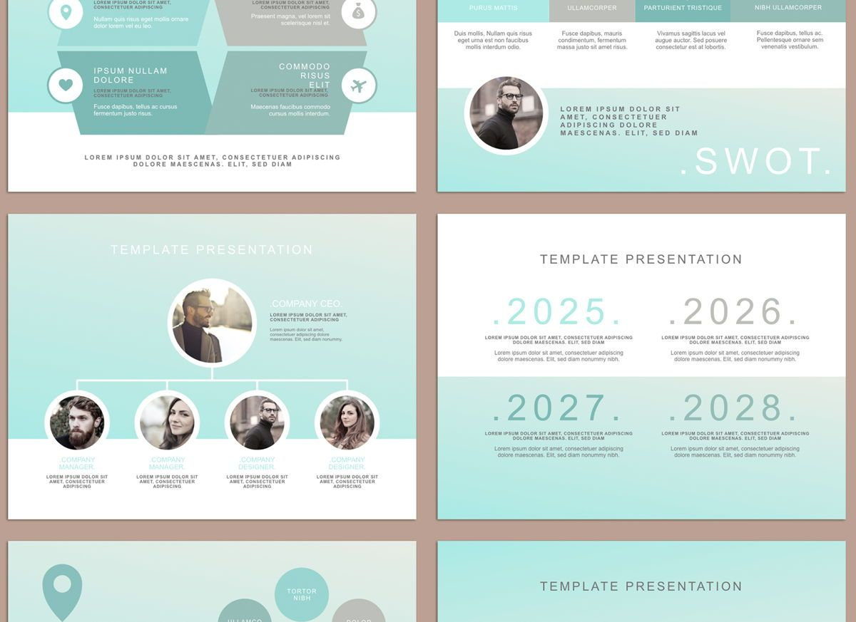 Concentrated Keynote Presentation Template, Slide 2, 04542, Presentation Templates — PoweredTemplate.com