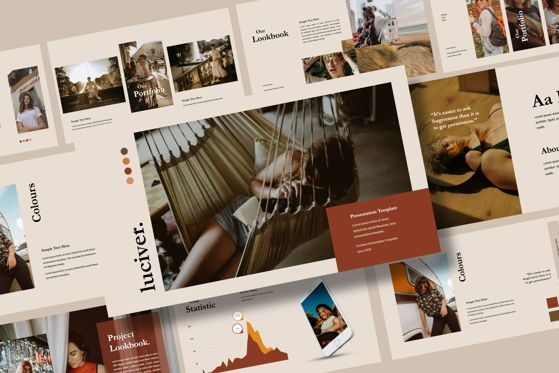 Presentation Templates: Luciver - PowerPoint Template #04543