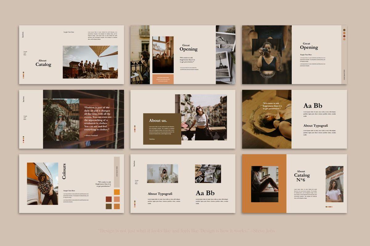 Luciver - PowerPoint Template, Slide 6, 04543, Presentation Templates — PoweredTemplate.com