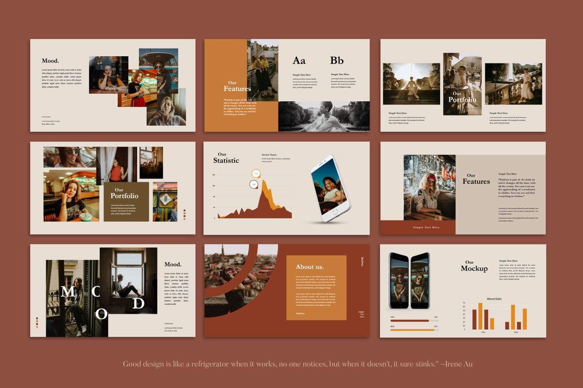 Luciver - PowerPoint Template, Slide 7, 04543, Presentation Templates — PoweredTemplate.com
