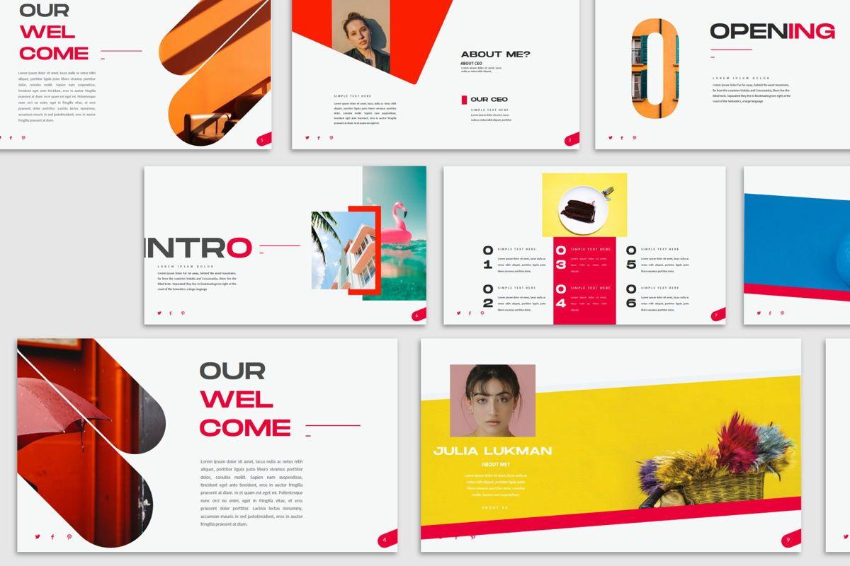 Visual - PowerPoint Template, Slide 4, 04544, Presentation Templates — PoweredTemplate.com