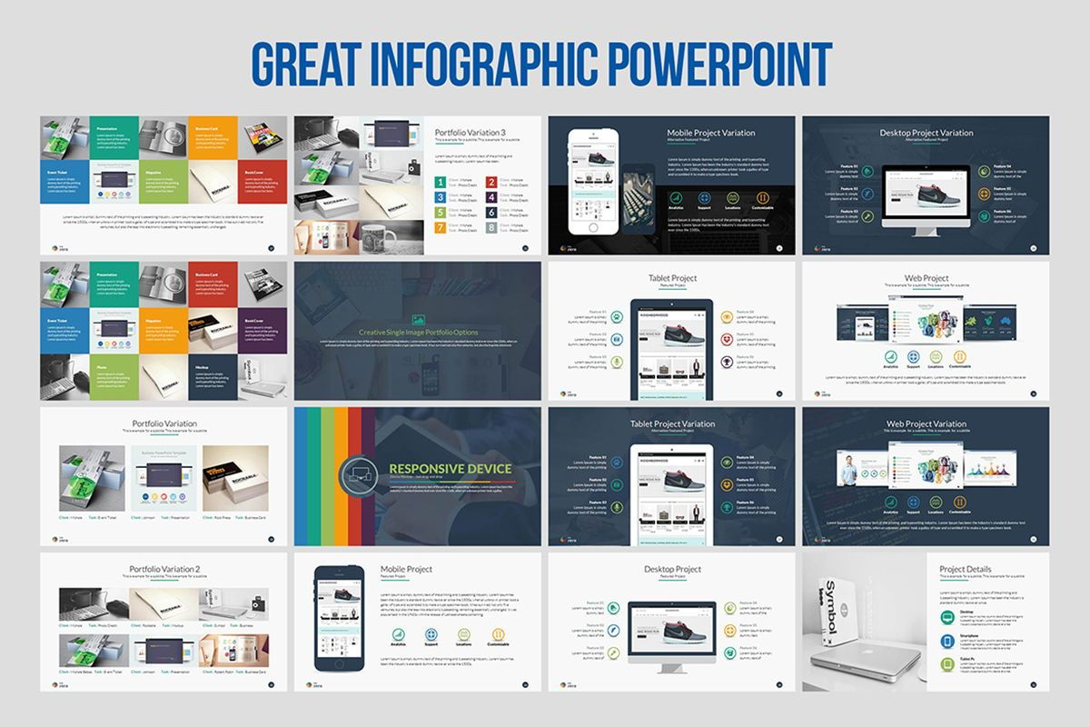 Infographic Business PowerPoint Presentation Template, Slide 3, 04545, Business Models — PoweredTemplate.com