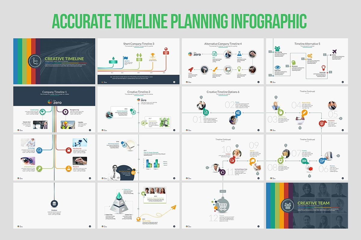 Infographic Business PowerPoint Presentation Template, Slide 4, 04545, Business Models — PoweredTemplate.com