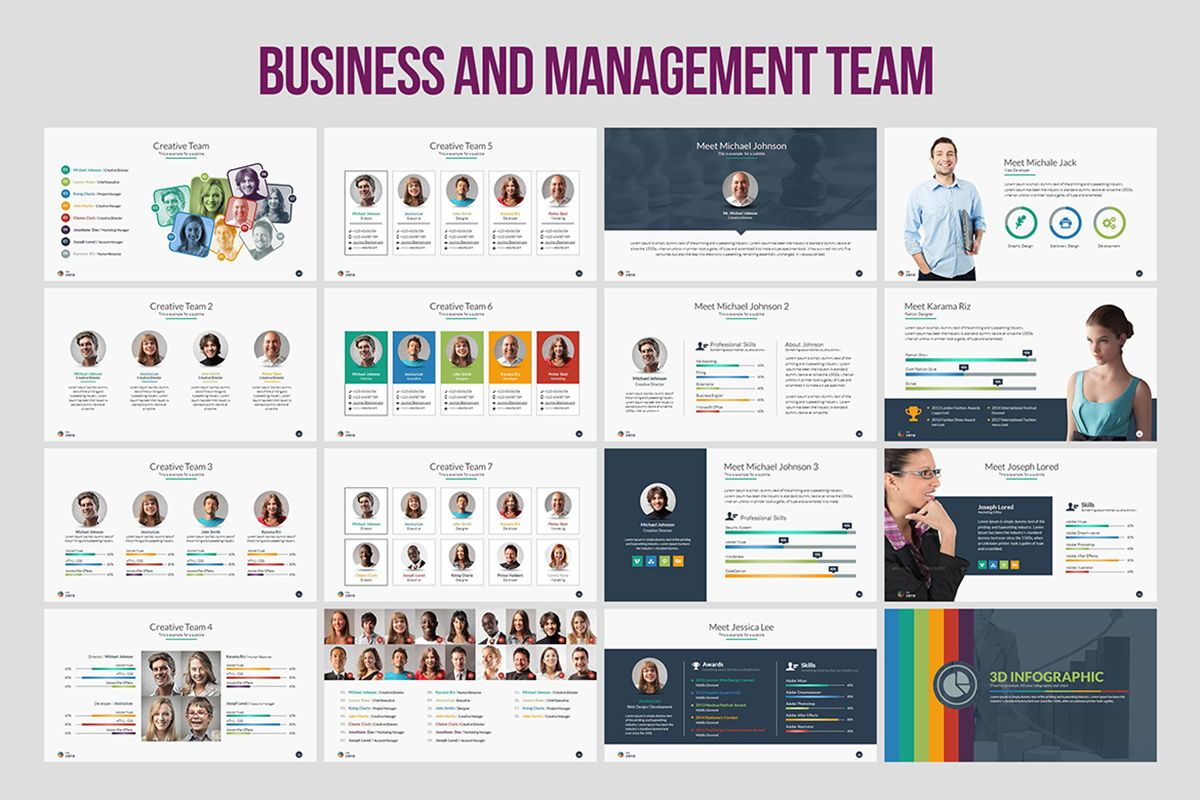 Infographic Business PowerPoint Presentation Template, Slide 5, 04545, Business Models — PoweredTemplate.com
