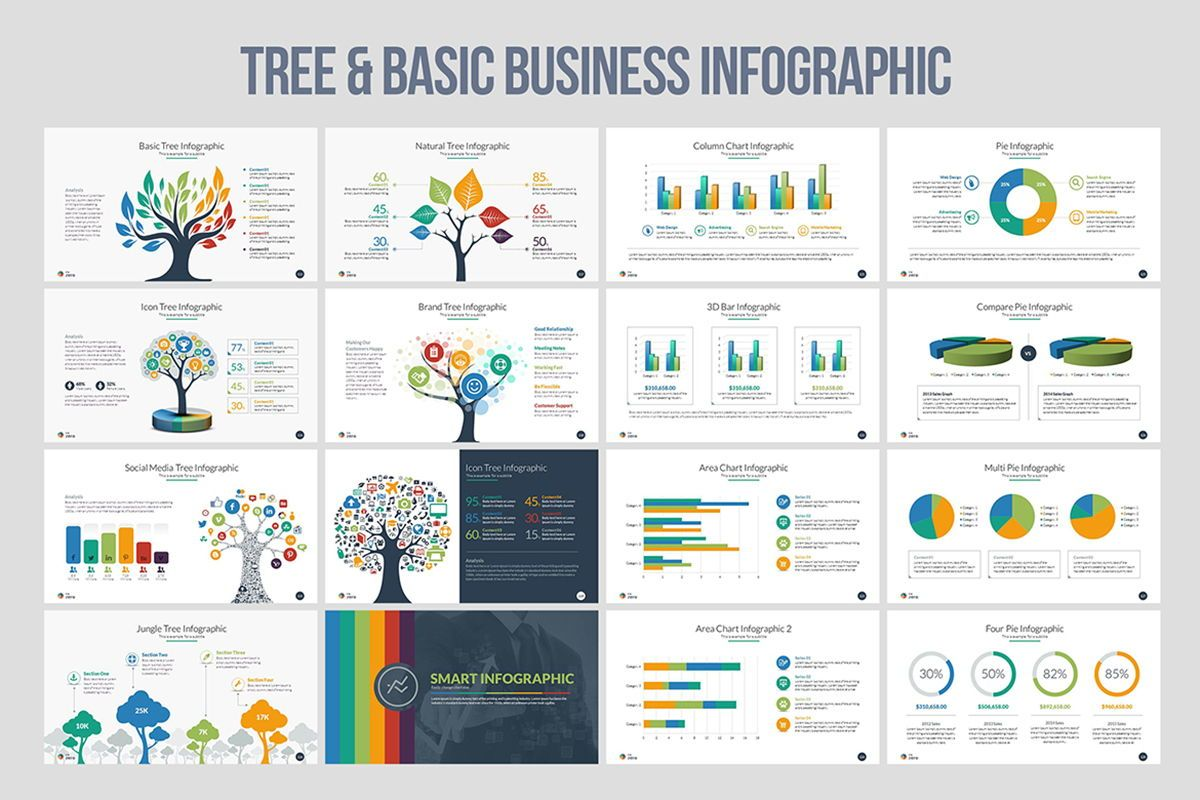 Infographic Business PowerPoint Presentation Template, Slide 9, 04545, Business Models — PoweredTemplate.com
