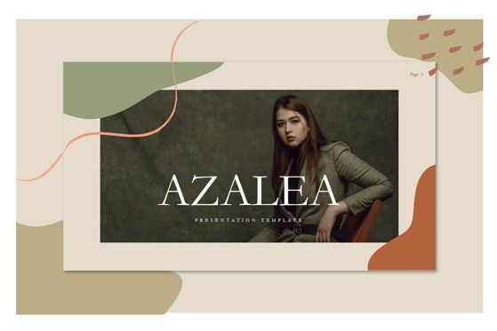 Presentation Templates: Azalea - PowerPoint Template #04546