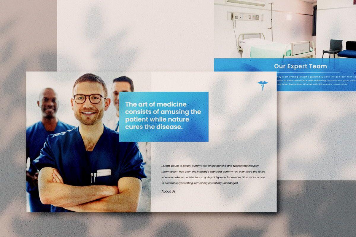 Medical - PowerPoint Template, Slide 3, 04548, Presentation Templates — PoweredTemplate.com