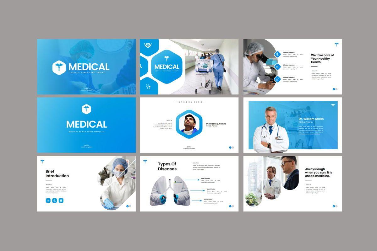 Medical - PowerPoint Template, Slide 5, 04548, Presentation Templates — PoweredTemplate.com