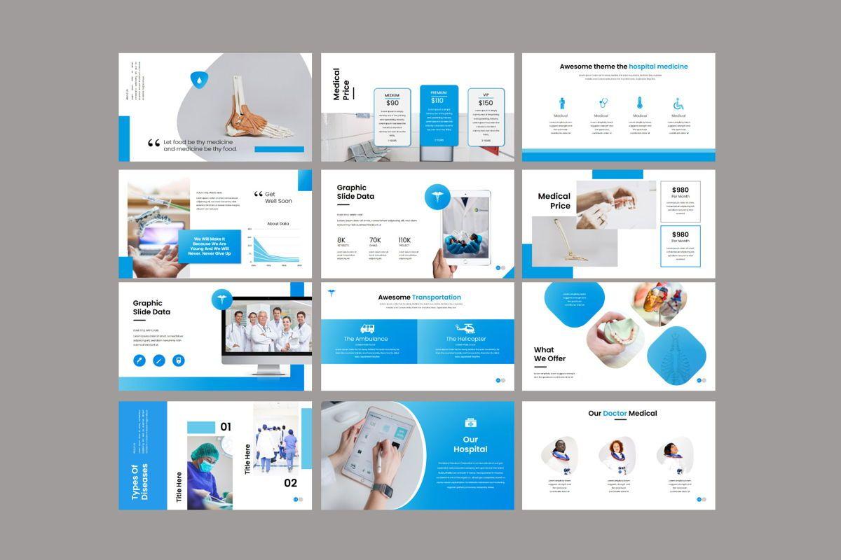 Medical - PowerPoint Template, Slide 7, 04548, Presentation Templates — PoweredTemplate.com