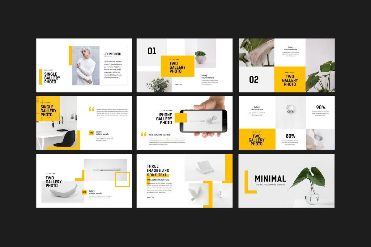 Minimal - PowerPoint Template, Slide 10, 04550, Presentation Templates — PoweredTemplate.com