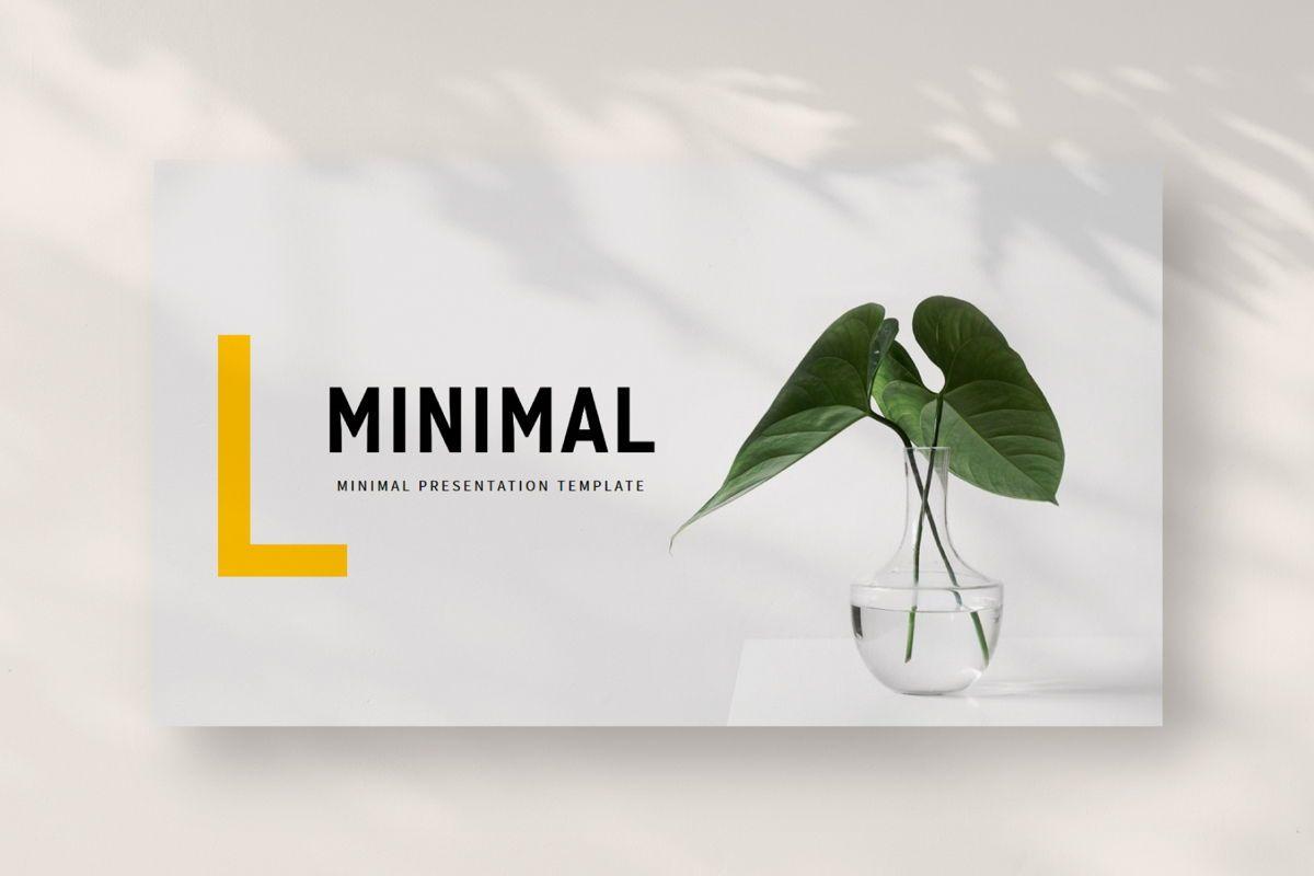 Minimal - PowerPoint Template, Slide 2, 04550, Presentation Templates — PoweredTemplate.com