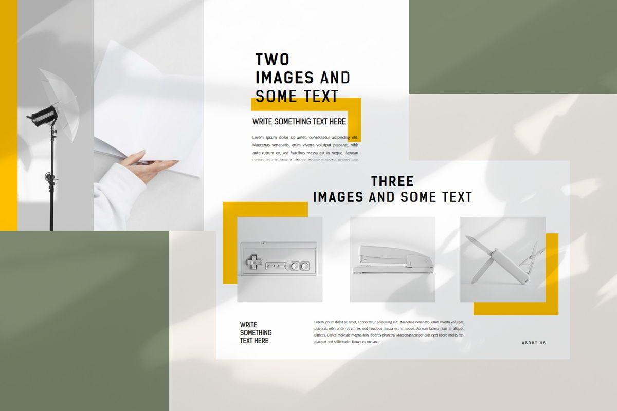 Minimal - PowerPoint Template, Slide 4, 04550, Presentation Templates — PoweredTemplate.com