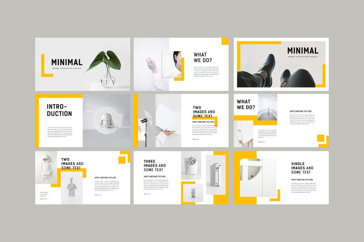 Minimal - PowerPoint Template, Slide 7, 04550, Presentation Templates — PoweredTemplate.com