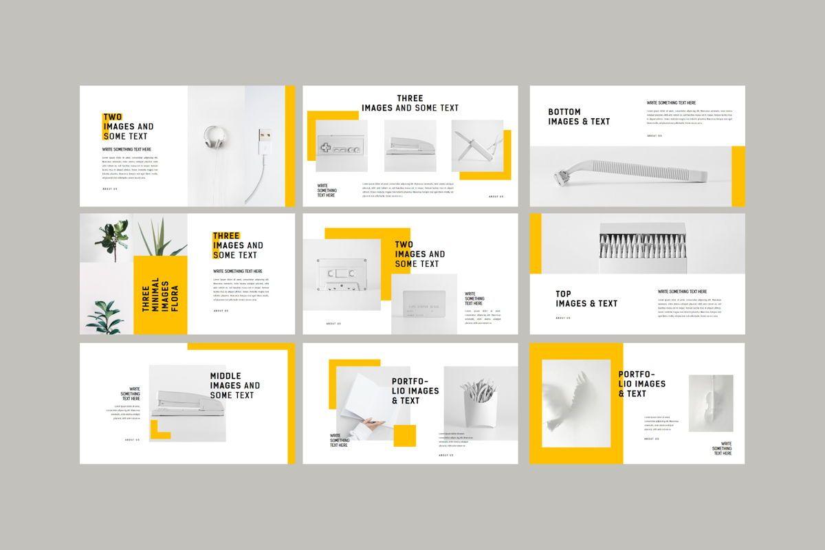 Minimal - PowerPoint Template, Slide 8, 04550, Presentation Templates — PoweredTemplate.com