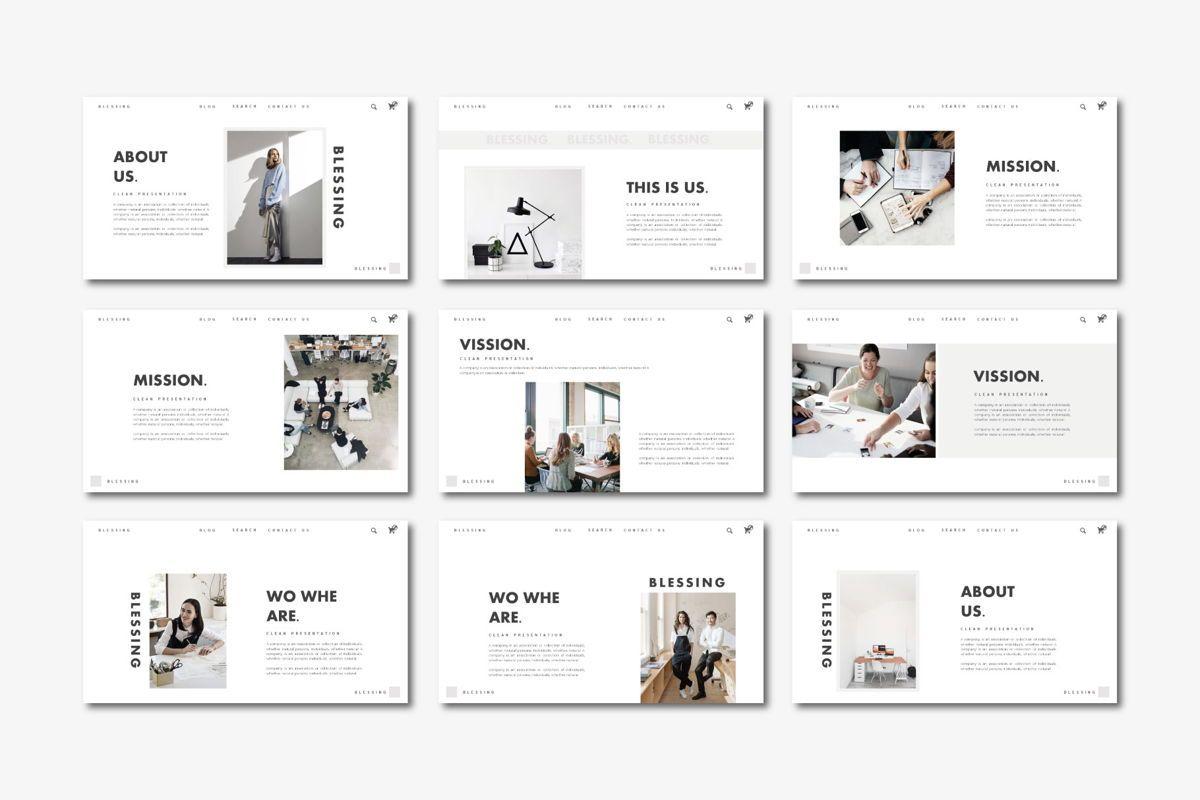 Blessing - PowerPoint Template, Slide 2, 04552, Presentation Templates — PoweredTemplate.com