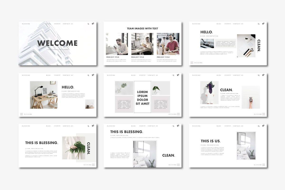 Blessing - PowerPoint Template, Slide 3, 04552, Presentation Templates — PoweredTemplate.com