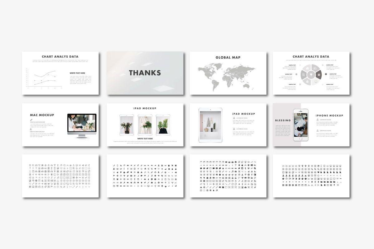 Blessing - PowerPoint Template, Slide 6, 04552, Presentation Templates — PoweredTemplate.com