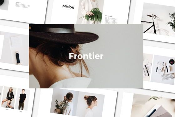 Presentation Templates: Frontier - PowerPoint Template #04554