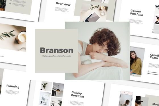 Presentation Templates: Brandson - PowerPoint Template #04555